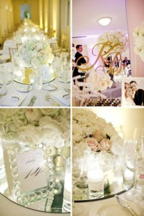 Best Mirror Centerpieces For Weddings Pictures