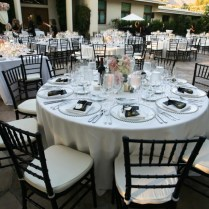 Black White And Silver Wedding Theme