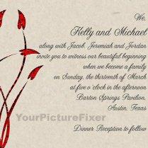 Blended Family Wedding Invitations Wedding Ideas Blended Family