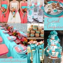 Brilliant Wedding Color Combinations Coral Wedding Color
