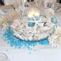 Candle Beach Wedding Table Decorations Best House Design