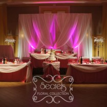 Charming Fuchsia Wedding Table Decorations 53 About Remodel Table