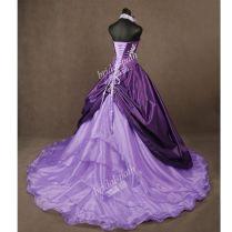 Cheap Purple Wedding Dresses – Watchfreak Women Fashions