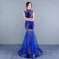 Chinese Women Cheongsam Dress Traditional Chinese Wedding Gown