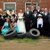 Country Formal Wedding Attire