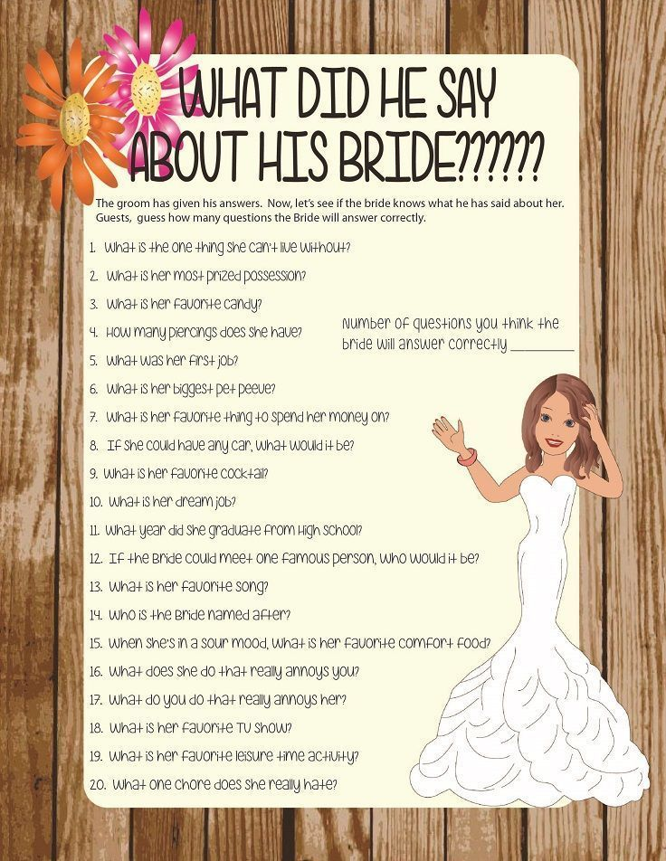 Wedding Shower Ideas For Couples