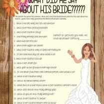 Couple Wedding Shower Ideas