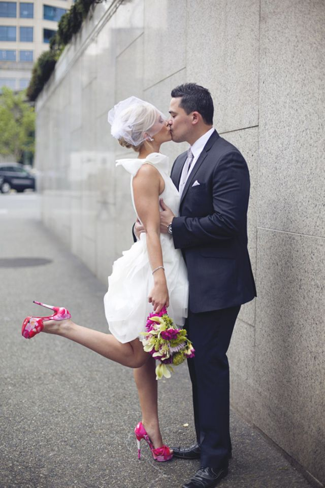 Civil Court Wedding Dress