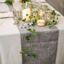 Creative Of Table Runner Wedding 1000 Ideas About Wedding Table
