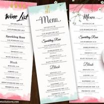 Design & Templates, Menu Templates ,wedding Menu , Food Menu ,bar
