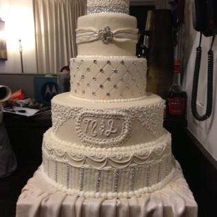 Diy Faux Wedding Cake
