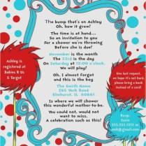 Dr Seuss Wedding Invitations