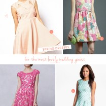 Dresses To Wear To Spring Wedding Pictures Ideas, Guide To Buying