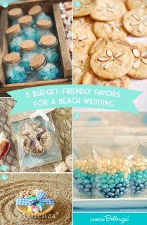 Edible Favors For A Beach Wedding That Are Budget