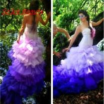 Emejing Blue And Purple Wedding Dress Ideas