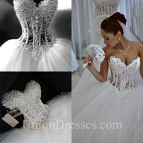 Emejing Corset Wedding Dresses Ideas