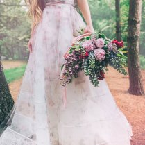 Emejing Floral Print Wedding Dresses Contemporary