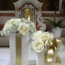 Enchanting Golden Wedding Anniversary Table Decorations 87 About