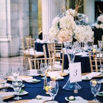 Exciting Navy Blue Wedding Table Decorations 14 With Additional
