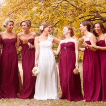 Fall Color Wedding Dress