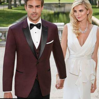 Fall Wedding Tuxedo Colors