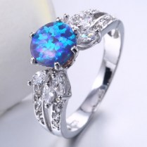 Fire Opal Engagement Rings Compare Prices On Fire Opal Engagement