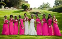 Fuschia Wedding