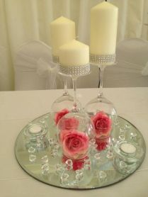 Glamorous Wedding Wine Glass Decorating Ideas 42 About Remodel