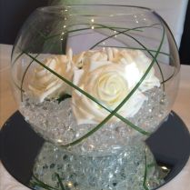 Glass Bowl Centerpieces For Weddings