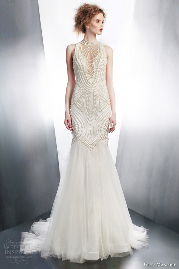 Art deco wedding dress junglespirit Choice Image