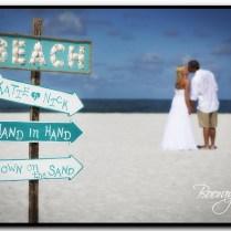 Great Beach Wedding Sign