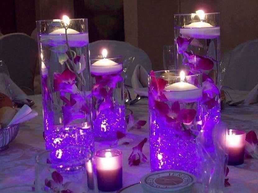 Purple wedding decor ideas junglespirit Image collections