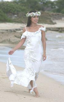 Hawaiian Beach Wedding Dresses