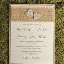 Homemade Wedding Invitations Homemade Wedding Invitations With A