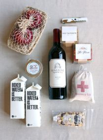 Ideas For Welcome Bags For Wedding Guests Best 25 Welcome Baskets