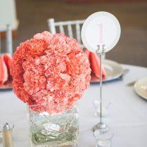 Impressive Coral Wedding Centerpiece Ideas 1000 Ideas About Coral