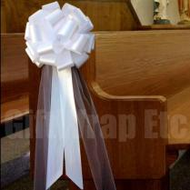 Interesting Bow Decorations For Weddings 16 For Your Wedding Table