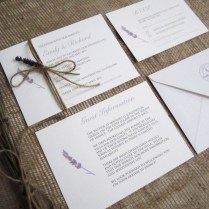 Lavender Love' Rustic Wedding Stationery Suite » Sj Wedding