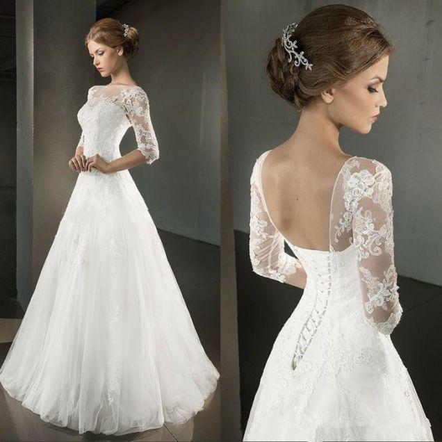 Look Beautiful By Wearing Corset Wedding Dresses