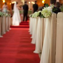 Lovable Pew Decorations For Weddings 0