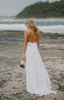 Low Back Beach Wedding Dresses Naf Dresses