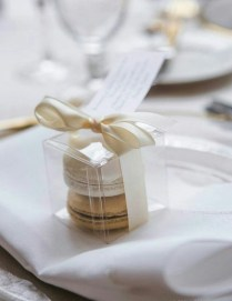 Macaroon Wedding Favors