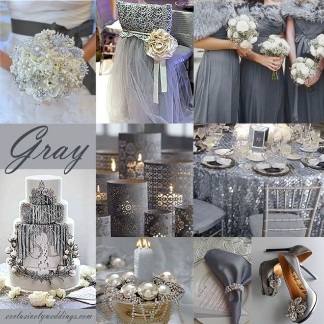 Marvellous Gray Wedding Decoration Ideas 99 For Wedding Table