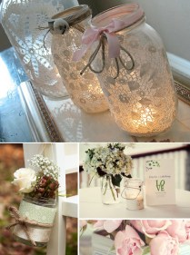 Mason Jar Decorating Ideas For Weddings