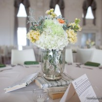 Mercury Glass Wedding Centerpieces