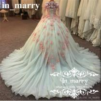 Muslim Arabic Designer Ball Gown Wedding Dresses 2017 Vintage Lace