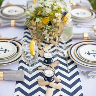 Nautical Wedding Ideas Pictures Set Sail With Nautical Wedding
