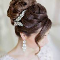 Nice Bridal Hair Bun Styles