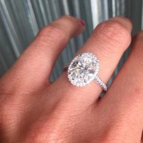 Oval Wedding Rings Best 10 Oval Engagement Rings Ideas On