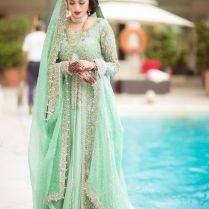 Pakistani Bridal Lehenga Dresses 2017